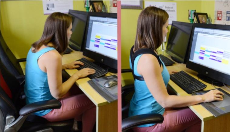 Perfect Posture Kit at Desk